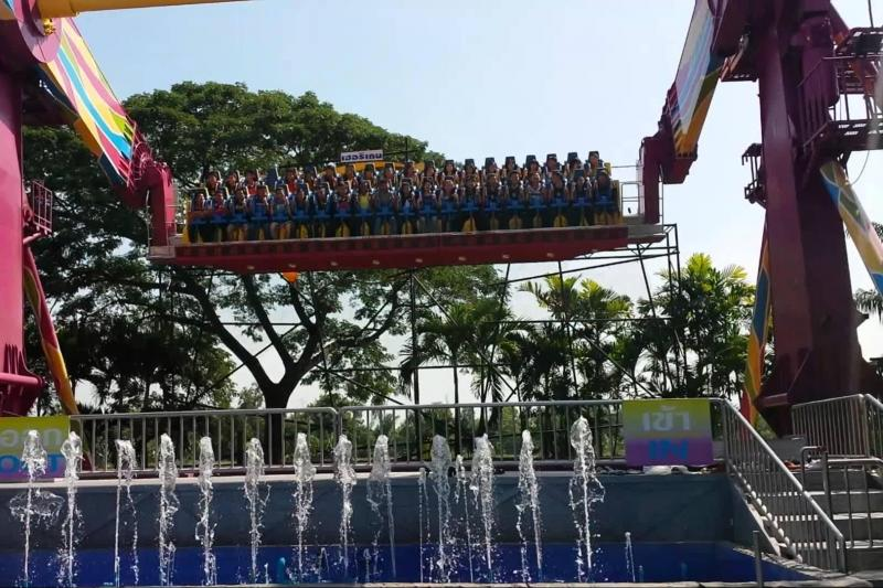 Dream World Amusement Park Bangkok And Snow Town
