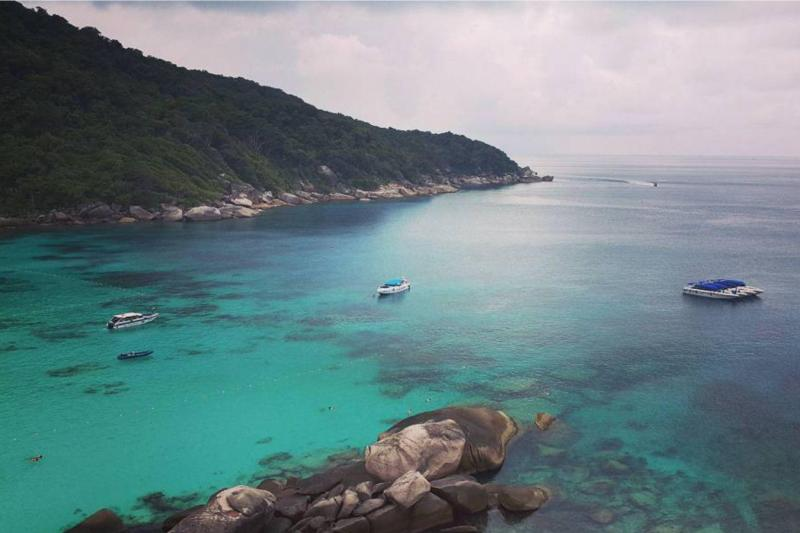 View from Similan view point