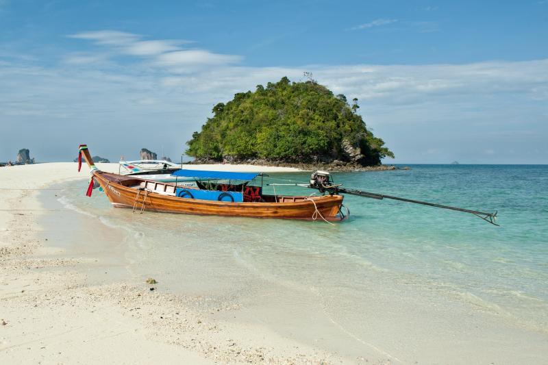 Poda Island on Krabi 4 Islands Tour from Phuket