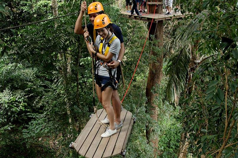 Phuket Flying Hanuman - Ziplining Adventure